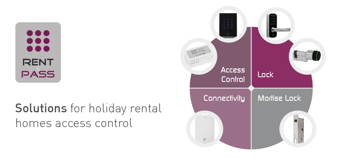 Electronic Lock and Access Control for Holiday Homes