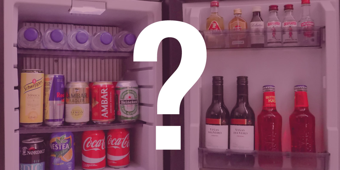 Hotel minibars: The products to offer customers
