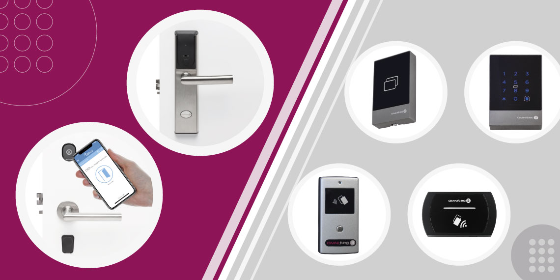 Differences between an electronic lock and access control