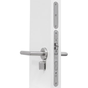 EVO Electronic Hotel Lock with knob privacy